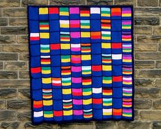 Counting Pane  PDF pattern for knitted afghan by woollythoughts (Craft Supplies…