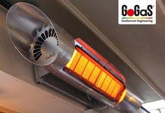GoGaS Terrassenstrahler VARIOMAX: Effizienz trifft auf international prämiertes Design. Weitere Informationen erhalten Sie unter www.gas-infrared-heating.com oder unter www.radiantheating.de.