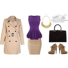 A fashion look from September 2013 featuring peplum top, double breasted coat and slit maxi skirts. Browse and shop related looks. Double Breasted Coat, Office Ladies, Peplum, Fashion Looks, Lady, Polyvore, Shopping, Tops, Veil