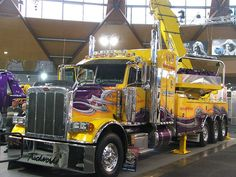 PETE WRECKER  by FL001, via Flickr,  WOW! Now that is the tow truck of tow trucks. Need a towing service in, around, near Naperville, IL? http://www.towrecoverassist.com is here for you all day, everyday. We don't want your arm and legs just your tows. Call 630-200-2731 now.