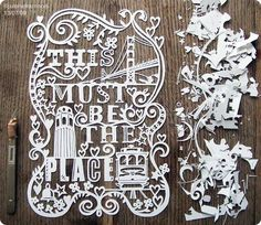 Paper+Cutting+Art+Designs   ... out there highlighting paper cutting, but here is one of my favorites