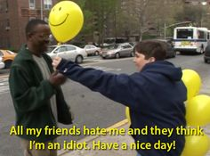 Have a nice day!  I miss Andy Milonakis