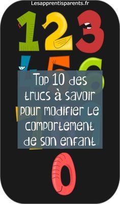 Top 10 des trucs à savoir pour modifier le comportement de son enfant