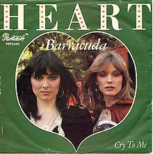 """#20 Heart - """"Barracuda""""  http://www.whatisthatsong.net/charts-lists/classicrock.htm"""