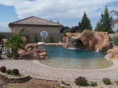 PERFECT FOR MY KIDS AND THEY WOULD LOVE THE SLIDE. WHEN YOU LIVE IN HOT LAS VEGAS YOU NEED A POOL!!!