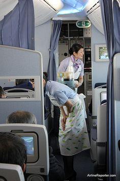 ANA 787 Flight Attendants   Flickr - Photo Sharing!