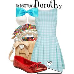 Dorothy by leslieakay on Polyvore featuring MBaoBao, Accessorize, Kate Spade, Reeds Jewelers and Disney