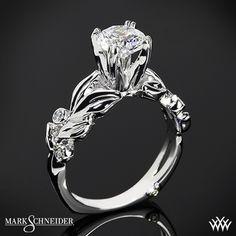 Mark Schneider Flora Solitaire Engagement Ring