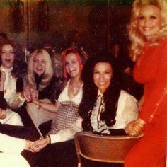 Dolly Parton with Loretta Lynn