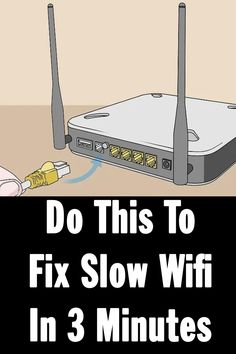 fix slow wifi Simple Life Hacks, Useful Life Hacks, Computer Help, Computer Basics, Computer Tips, Home Hacks, Rv Hacks, Tech Hacks, Camping Hacks