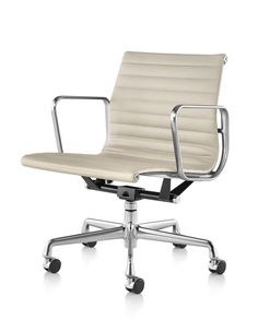 Eames Aluminum Management Chair Replica African Birthing Buy The Aluminium Soft Pad Executive From Barcelona Designs And Get A George Nelson Clock With It Abs Office