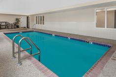 Pool at the Days Inn - near Kansas Speedway in Kansas City, Kansas