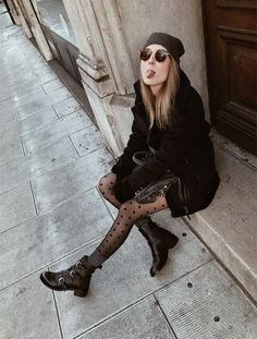 #ootd #winterstyle #winteroutfit #fashion #style #love #shopping #blog Boho Rock, Pretty Cool, Winter Outfits, Blogging, Winter Fashion, Goth, Hipster, Passion, Community