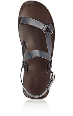 Slingback-Strap Sandals at Barneys.com