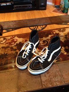 Item: Vans men size 7.5 skateboard shoes nice