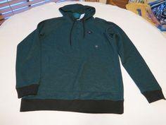 Men's Volcom stone surf skate brand long sleeve shirt med M red heather NWT #Volcomstone #longsleeve