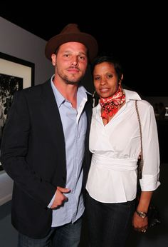 """Justin Chambers Photos - Justin Chambers and wife Keisha Chambers at IWC Schaffhausen """"Peter Lindbergh's Portofino"""" held at Culver Studios on April 2011 in Culver City, California. - IWC Schaffhausen Presents """"Peter Lindbergh's Portofino"""" Ex Boyfriends Girlfriend, Justin Chambers, Debbie Allen, Medical Drama, Dance Academy, Black Mother, Celebs, Celebrities, Celebrity Couples"""