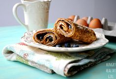 Cinnamon French Toast Breakfast Wrap ‹ Hello Healthy