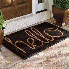 Outdoor Doormats - Coco Mats - Entrance Mats - Grandin Road