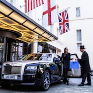 Rolls-Royce helps London hotel guests travel in style