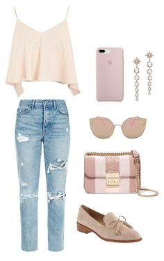 """""""#2"""" by chavelles on Polyvore featuring GRLFRND, Topshop, MICHAEL Michael Kors and Banana Republic"""