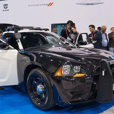 Super Cop Car on Display at CES 2013