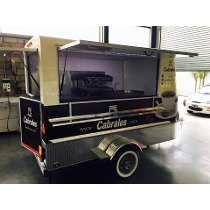 Foodtruck,food Trailer Gastronomico, Homologado Patentable !