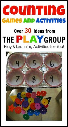 30+ Counting Games & Activities. Counting times I think of you in a day