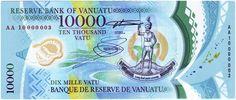 Vanuatu (Currency: Vanuatu Vatu)