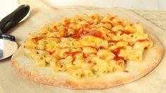 NEW Mac and Cheese Pizza with Sriracha