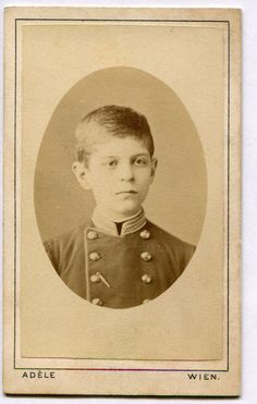 Old visit portrait 1910's Austria: handsome young boy in military uniform, beautiful photo ORIGINAL vintage photo by PhotoMemoriesLane on Etsy