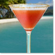 WATERMELON SPLASH   This original creation refreshes with the flavors of pureed pineapple, mango rum, triple sec, pineapple juice and our Tommy Bahama White Sand® Rum