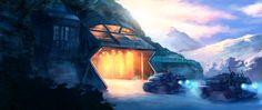 Secret Base by MathiasZamecki.deviantart.com on @deviantART