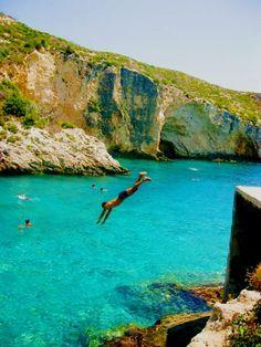off you go, Zakynthos, Greece