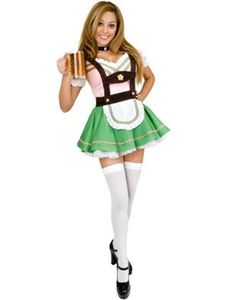 Women S Sexy Lederhosen Beer Girl German Costume