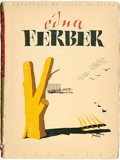 Design by design Victor Palla, 1 9 4 5,  Edna Ferber, Editora Atlântida.
