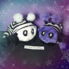 Sweet Mimi Plushie white and purple hood - Wedding Bouquets Stuffed Animals, Fantasy Wesen, Purple Wedding Bouquets, Cute Creatures, Plushies, Hand Sewing, Favorite Color, Great Gifts, Blog