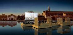 Ole Scheeren: Archipelago Cinema zur Biennale in Venedig