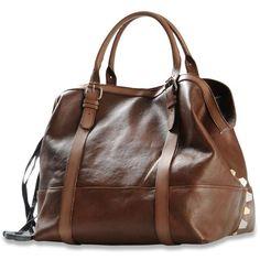 DIESEL Sheenn Bag (905 BRL) ❤ liked on Polyvore featuring bags, handbags, purses, brown, women, diesel bags, strap bag, brown purse, hand bags and brown hand bags