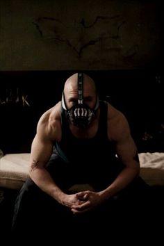 Tom Hardy as Bane. My favorite Batman movie!