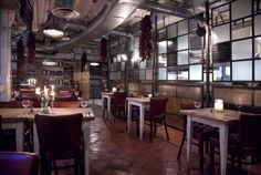 through the restaurant. #interior #furniture