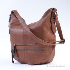 Duży mieszczący format A4 worek w kolorze brązowym: http://torebki-damskie.eu/brazowe/380-worek-kolor-camel-braz.html #moda