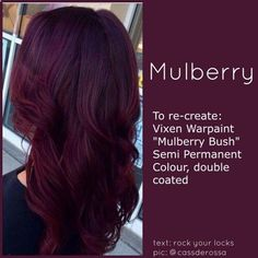 Best Burgundy Hair Dye for Dark Hair . Unique Best Burgundy Hair Dye for Dark Hair . Make A Bold Statement with the Hottest Hair Color Shades Of the Pelo Color Vino, Pelo Color Borgoña, Natural Hair Styles, Long Hair Styles, Hair Color And Cut, Hair Cuts And Color Ideas, Raven Hair Color, Unique Hair Color, Red Brown Hair Color