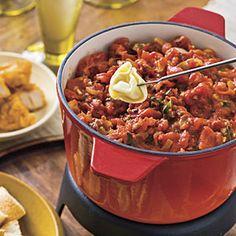 Tomato-and-Herb Fondue Recipe