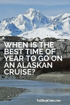 Best Time of Year to Go on an Alaskan Cruise. Find out the best time of year to enjoy an Alaskan cruise with our tips. Alaska is a beautiful place to visit, but planning ahead of time is a necessity. Find out more. Packing List For Cruise, Cruise Travel, Cruise Vacation, Vacation Trips, Vacation Spots, Vacation Ideas, Packing Lists, Disney Cruise, Vacation Games