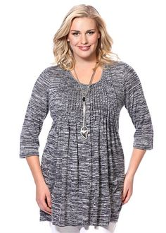 Plus Size Tops | Plus Size Evening Tops - MIKA TUNIC - TS14