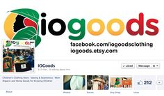 find us on facebook too!  facebook.com/iogoodsclothing