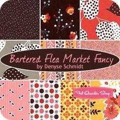 Bartered Flea Market Fancy Fat Quarter Bundle Denyse Schmidt for Free Spirit Fabrics - Fat Quarter Shop