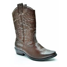 """Brown """"Westee"""" Cowboy Boot by Bronx Woman Sexy Cowgirl, Cowgirl Boots, Lv Shoes, Different Styles, Dream Wedding, High Heels, Ladies Boots, Brown, Lady"""