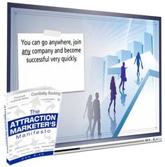Download this 71 page FREE Report from Ann Sieg..called Attraction Marketer's Manifesto that shows you what attraction marketing is all about and how to do it properly.